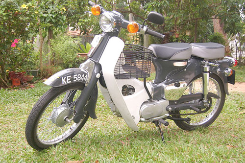 Download Honda C70 repair manual