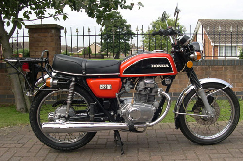 Download Honda Cb200 Cl200 repair manual