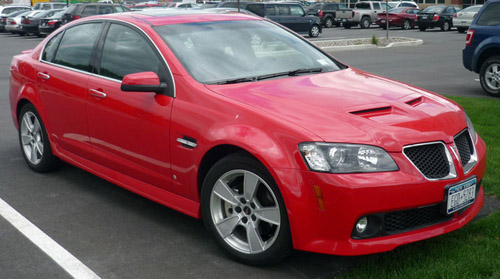 Download Pontiac G8 repair manual