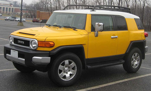 Download Toyota Fj Cruiser repair manual