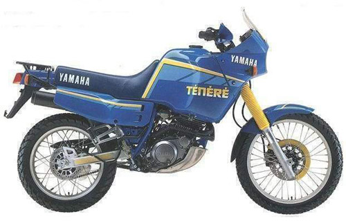 Download Yamaha Xt-600z Dutch repair manual